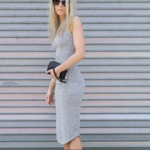 Aritzia jersey dress